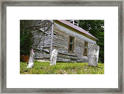 Hocking Hills Church Framed Print