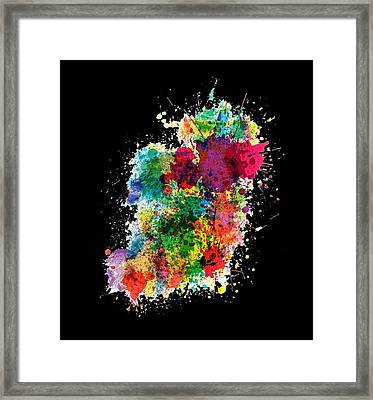 Hodge Podge T-shirt Framed Print