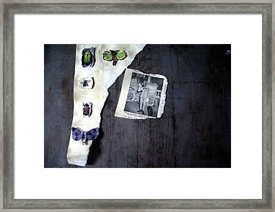 Hodge Podge Of A Madman Framed Print