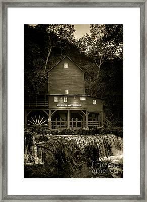 Hodgson Gristmill Framed Print
