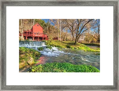Hodgson Mill Landscape - Missouri Framed Print