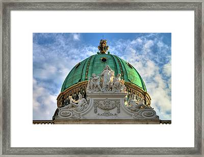 Hofburg Palace Dome Framed Print
