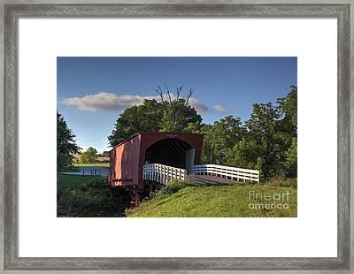 Roseman Covered Bridge Framed Print