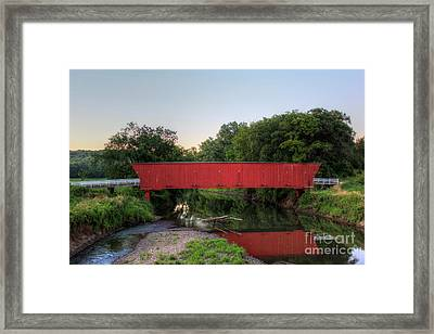 Hogback Covered Briodge Framed Print