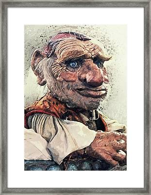Hoggle - Labyrinth Framed Print