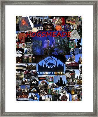 Hogsmeade Town Framed Print by David Lee Thompson