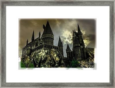 Hogswarts Castle Framed Print