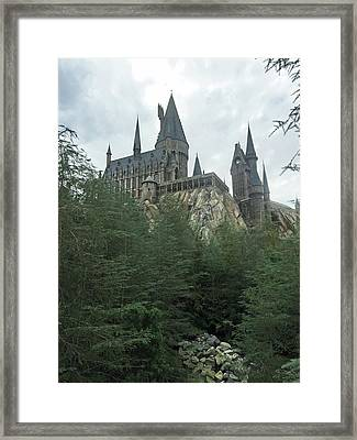 Hogwarts Castle 1 Framed Print by Aimee L Maher Photography and Art Visit ALMGallerydotcom