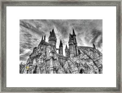 Hogwarts Castle 1 Framed Print