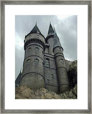 Hogwarts Castle 3 Framed Print by Aimee L Maher Photography and Art Visit ALMGallerydotcom