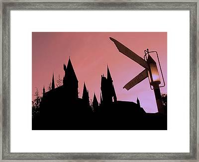 Hogwarts Castle ... Framed Print