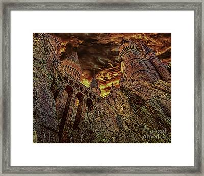 Hogwarts Castle Framed Print by Olga Hamilton