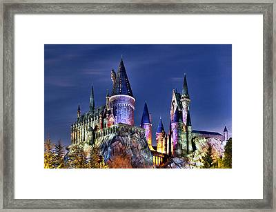 Hogwarts Framed Print by Danny Price