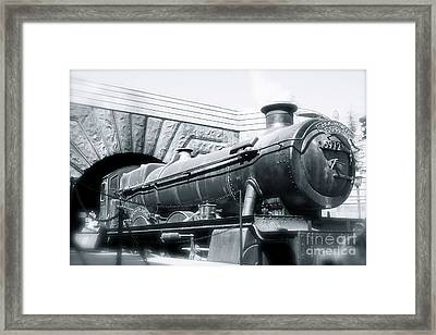 Hogwarts Express Black And White Framed Print