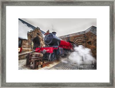 Hogwarts Express Framed Print by Darcy Michaelchuk