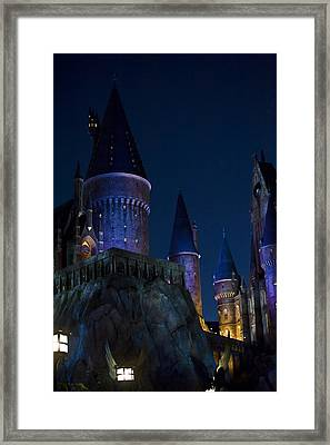 Hogwarts Framed Print by Sarita Rampersad