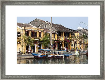 Hoi An Ancient Town Framed Print