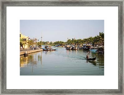 Hoi An River Framed Print