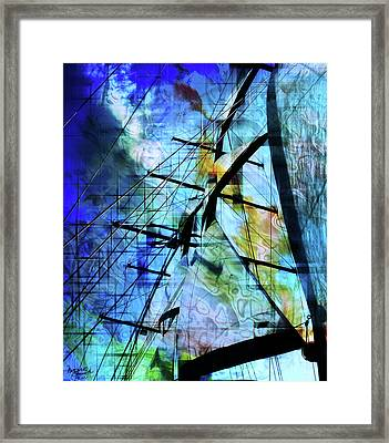 Hoist Framed Print by Monroe Snook
