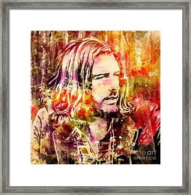 Hoizer Portrait In Color Framed Print by Irina Effa