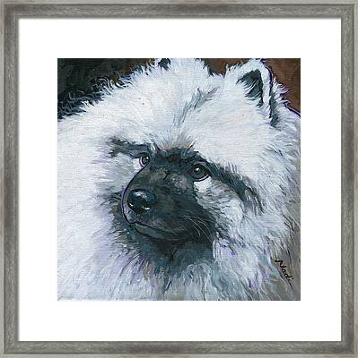 Hokie Framed Print by Nadi Spencer