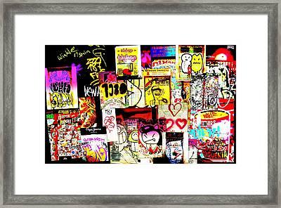 Hola Barcelona Framed Print by Funkpix Photo Hunter