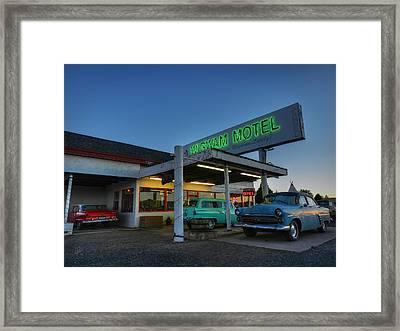 Holbrook Az - Wigwam Motel 010 Framed Print by Lance Vaughn