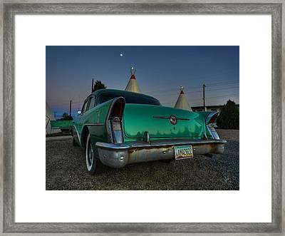 Holbrook Az - Wigwam Motel 013 Framed Print by Lance Vaughn