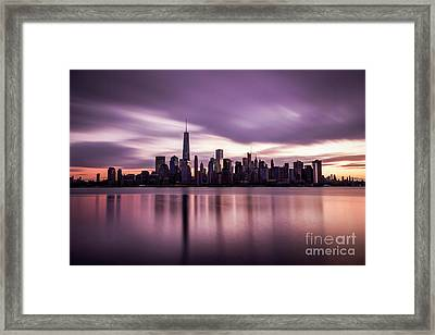 Hold Back The Future Framed Print