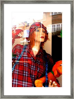 Hold It Framed Print by Jez C Self