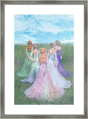 Hold My Hand Framed Print by Betsy Knapp