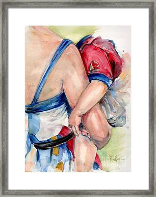 Hold On Framed Print