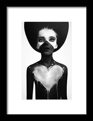 Hold On Framed Print