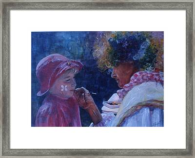Hold Still Framed Print by Victoria Heryet