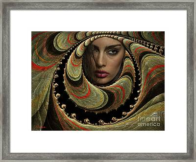 Hold The Darkness And Stay The Night Framed Print