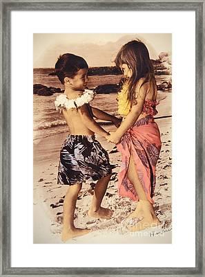 Holding Hands Framed Print by Himani - Printscapes