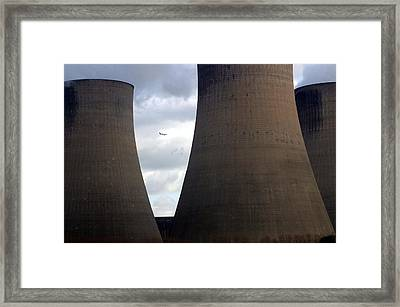Framed Print featuring the photograph Holding by Jez C Self