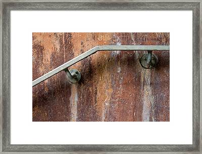 Holding On Framed Print by Dan Holm