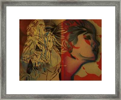 Holding On To Her Framed Print by Dorian Williams