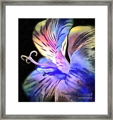 Holding On To You Framed Print by Krissy Katsimbras