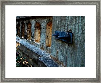 Framed Print featuring the photograph Holding Things Together by Glenn McCarthy Art and Photography