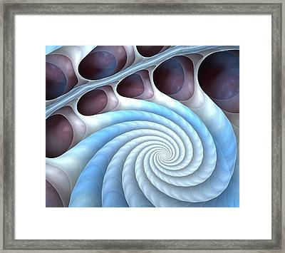 Holding Tight Framed Print