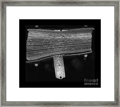 Holding Time - 2 Framed Print by Linda Shafer
