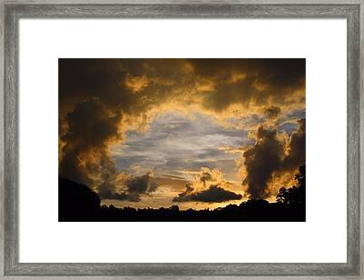 Hole In One Framed Print by Kathryn Meyer