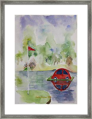 Hole In One Prize Framed Print by Geeta Biswas