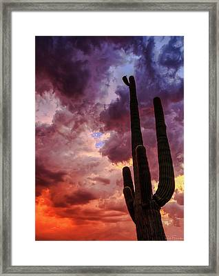 Framed Print featuring the photograph Hole In The Sky by Rick Furmanek