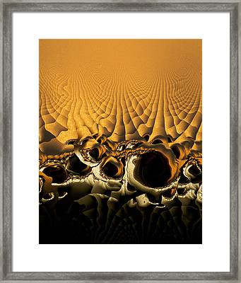 Holes In My Logic Framed Print