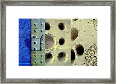 Holey Wholes Framed Print by Marlene Burns