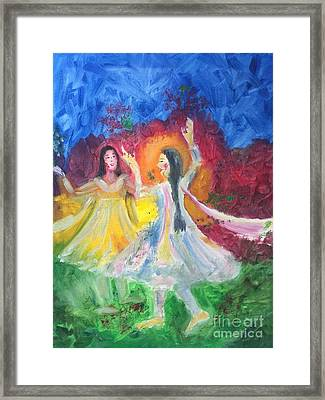 Holi-festival Of Colors Framed Print