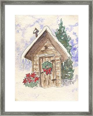 Holiday Best Framed Print by Gail Maguire